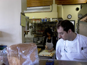 alain and judy in the kitchen